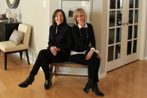 Kimberley Tokrud and Lynn de Gannes of Beach House Interiors